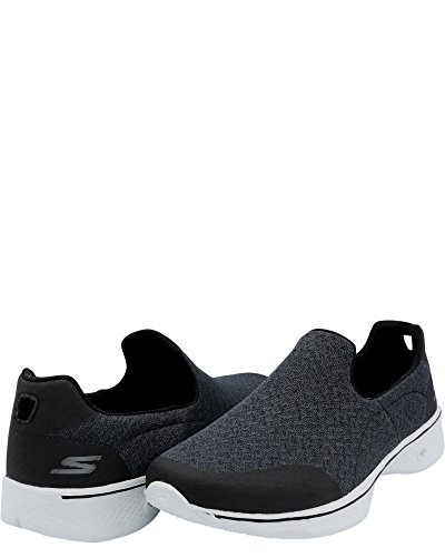 Diffuse 4 Performance Sneaker Skechers Womens White Go Black Slip Walk Black White on 8Xg8Itxqw