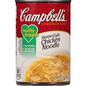 Campbell's Chicken Noodle Condensed Soup - Healthy Request 10.75 oz. (Pack of 3)