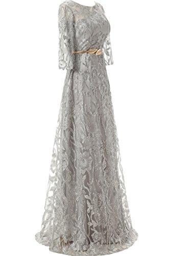 Modern Ivydressing Tuell Hi Rueckenfrei Festkleid Spitze Damen Herzform Silber Partykleid Abendkleid Promkleid Lo C6waqU