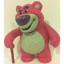 "Disney Toy Story Lots-o' Huggin' Bear, 3.5"" Pvc Doll Figure Toy, Cake Topper"