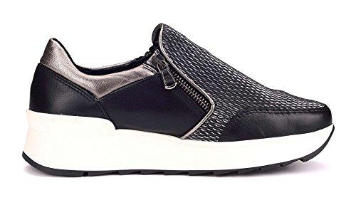 39 Sparrou Donna Jack The Flexx Nero Eu Sneaker E8pYw