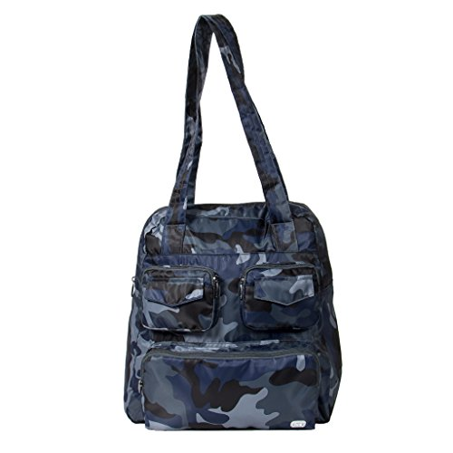 - Lug Women's Puddle Jumper Packable Duffel Bag, Camo Navy, One Size