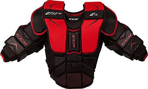 CCM New Youth ice Hockey Goalie Chest and arm Protector Extreme Flex Shield E1.5