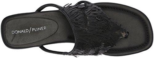 Donald J Pliner Women's Kya Slide Sandal, Black, 10 Medium US by Donald J Pliner (Image #8)