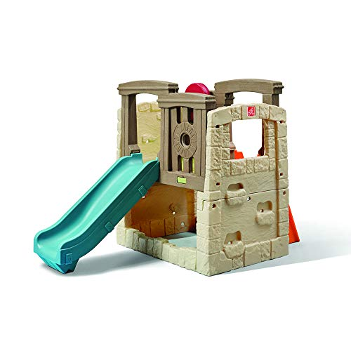 Step2 Naturally Playful Woodland Climber II | Kids Activity Climber Outdoor Playset (Toddlers For Equipment Gym)