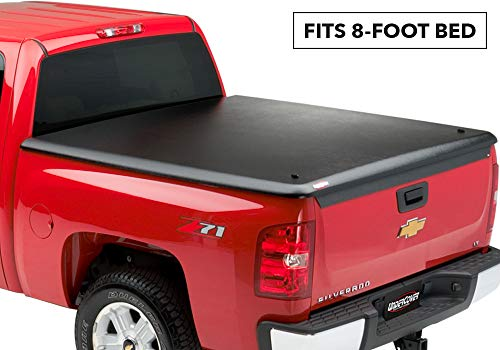 UnderCover Classic One Piece Truck Bed Tonneau Cover | UC1011 | fits 1999-2007 Chevy Silverado/GMC Sierra 1500-3500, 8ft Long Bed, Std/Ext Cab ()
