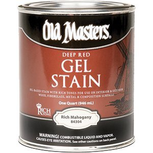 Old Masters 80604 Gel Stain, 1 Quart, Early American Paint Sundries Solutions