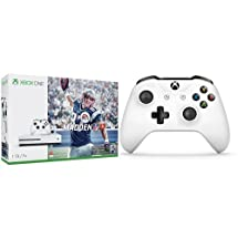 Xbox One S 1TB Console with Madden NFL 17 + Extra Controller Bundle