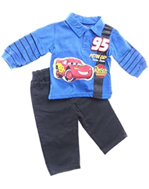 Cars Infant Boys 2pc Set ''Piston Cup Racing Services ''