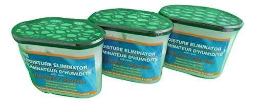 The Home Store Moisture Eliminator Dehumidifier Pellets with Charcoal, 9.8-oz. (Pack of 3) by The Home Store (Image #1)