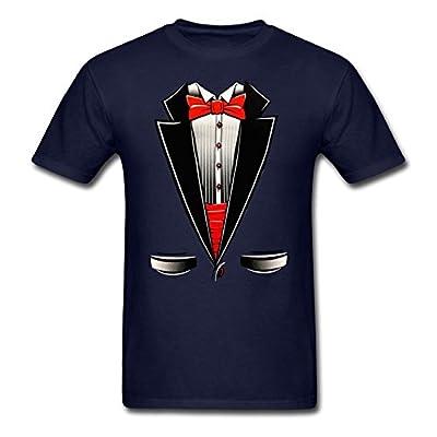 Shop4Ever® Tuxedo Funny T-Shirt Funny Shirts