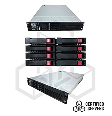 """HP Proliant DL380 Gen7 8 BAY Server with 2x2.93GHz Hexa Core X5670 Xeon Processor and 64GB Memory - 8x300GB 10K SAS 2.5"""" Hard Drives - P410i and P410 (256MB) - 2PS 750W - 2PC - No OS Included - DVD ROM - No Empty HDD Trays Included - DT Blanks Included"""