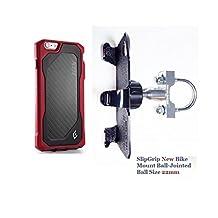 SlipGrip U-Bolt Bike Holder For Apple iPhone 6S Plus Using Element ION Case