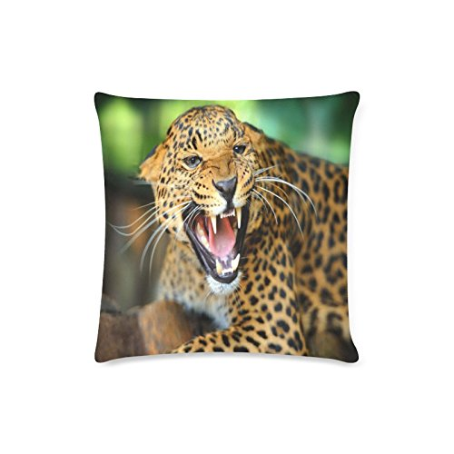 Cheetah Wildlife Rectangle Sofa Home Decorative Throw Pillow Case Cushion Cover Cotton Polyester Twin Side Printing 16