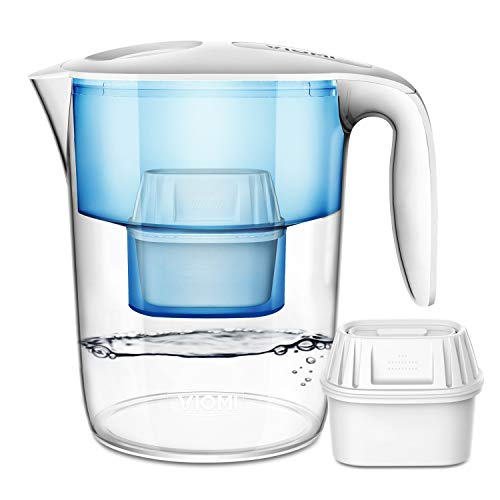 (VIOMI Xiaomi Mi 10 Cup Water Filter Pitcher, 7 Stage Filter, 100% BPA Free, Giving you Healthy & Good-taste Water)
