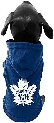 All Star Dogs NHL Unisex NHL Toronto Maple Leafs Cotton Hooded Dog Shirt