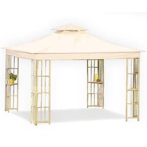 Cheap Garden Winds Replacement Canopy for Lowe's S-J-109 Gazebo – Riplock 500