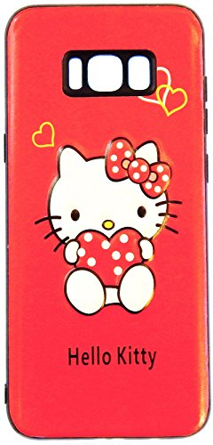 3D Hello Kitty Hybrid case drop proof and shockproof for Samsung Galaxy S8 Plus (6.2 in) - Retail Packaging (SAMS8PHYKT)