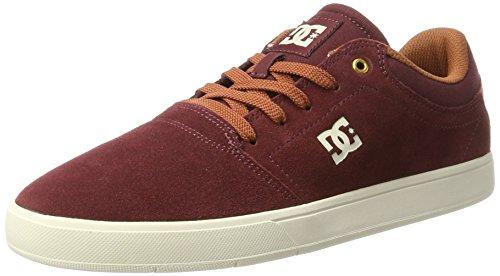 DC Shoes Herren Crisis Sneaker, Rot (Burgundy/Tan)