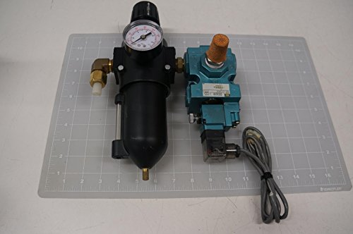(Mac, Watts 56C-13-504JC, B20-04WJC Solenoid Valve Assembly w/Filter Regulator T69530)