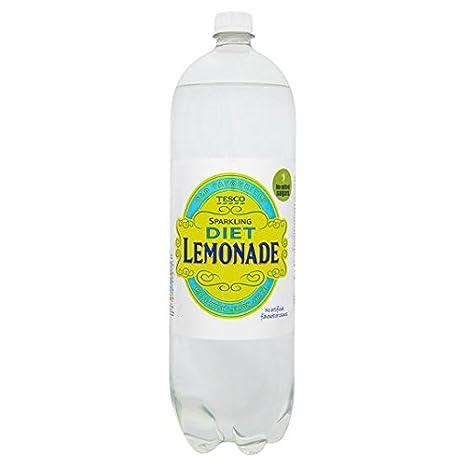 Tesco Sparkling Diet Lemonade 2 Litre Bottle Amazon Co Uk Grocery