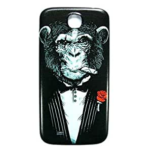 ZXC AnimalChimpanzee Pattern Thin Hard Case Cover for Samsung Galaxy S4 I9500