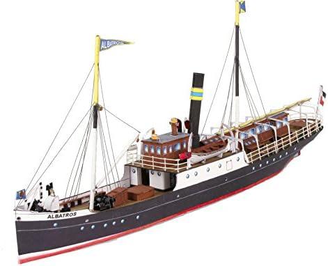 HMV 3325 Papermodel Freight and Passenger Steamer Albatros