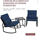Incbruce Outdoor Indoor 3Pcs Patio Furniture