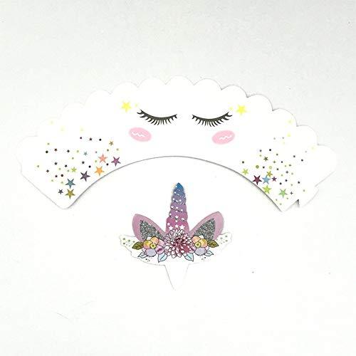 Manakayla 24PCS/Set Cartoon Cake Topper Party Banner + Surrounding Birthday Decoration Colorful 1