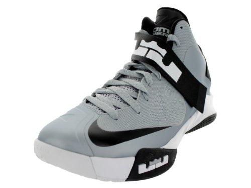 Nike Heren Nike Zoom Soldaat Vi Tb Basketbalschoenen 11 (wolf Grijs / Zwart / Wit)