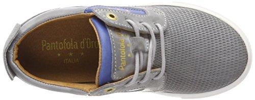 Baskets Garçon d'Oro Pantofola Low Vigo Ragazzi Grau Violet Gray v4Hwzaqxw