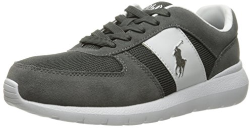 Polo Ralph Lauren Men's Cordell-SK, Charcoal Grey, 11.5 D - Online Polo Lauren Outlet Ralph