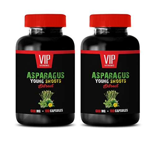 Diuretic and Anti-inflammatory - Asparagus Young Shoots Extract 600 MG - antioxidant Vitamins for Men - 2 Bottles 200 Capsules by VIP VITAMINS (Image #7)