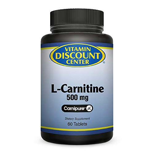 Vitamin Discount Center L-Carnitine 500mg, 60 Tablets