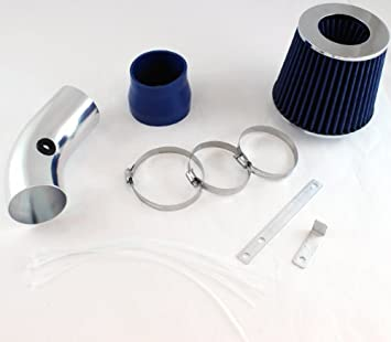 BLUE Filter For 00-05 Monte Carlo Impala 3.1L 3.4L V6 Short Ram Air Intake Kit