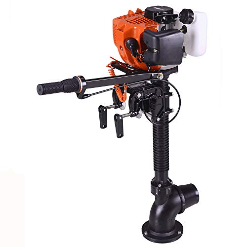 Superior Engine Water Cooling System Outboard Motor Two-strok Inflatable Fishing Boat ()