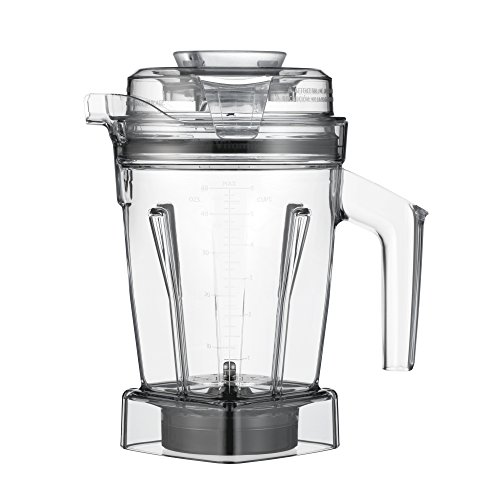 Vitamix 065421 Aer Disc Container, 48 oz, Clear (48 Blender Ounce Container)