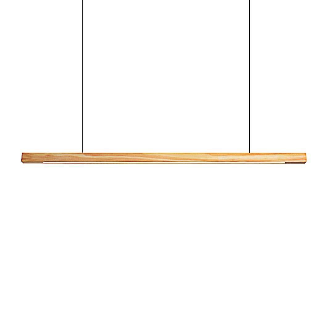 LED Pendelleuchte Pendellampe Pendellampe Pendellampe Höhenverstellbar Esstischlampe Modern Hängeleuchte aus Holz,4-flammig,18W,Maße 120 x 3 x 3cm(LXBXH) [Energieklasse A++] 5ea87f