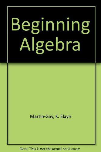 Beginning Algebra-CD Lect. Series(Software)