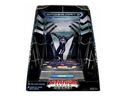 Titanium Series Marvel Spider-Man 3.75 Die Cast Venom