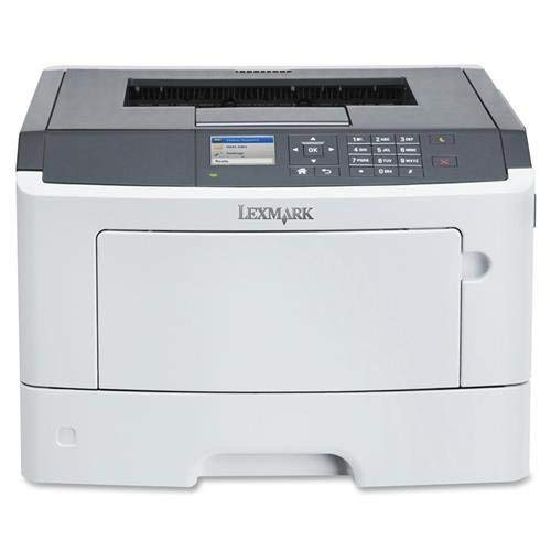Lexmark MS510DN Laser Printer - Monochrome - 1200 x 1200 dpi Print - Plain Paper Print - Desktop (35S0300) (Renewed)