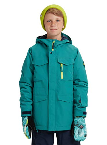 - Burton Kids & Baby Kids' Covert Jacket, Green-Blue Slate/Satellite, X-Large