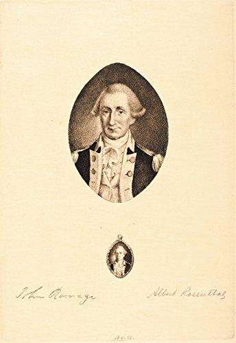 GEORGE WASHINGTON Print by A. Rosenthal, 1897