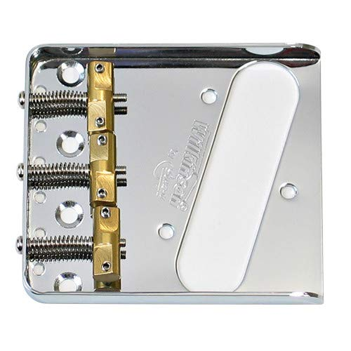 - NEW Wilkinson Chrome WTB Ashtray Bridge for Tele guitars, with Brass Saddles