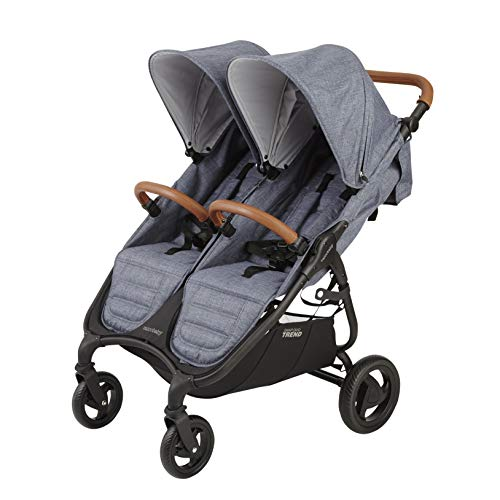 (Valco Baby Snap Duo Trend Light Weight Double Stroller 2019 (Denim))