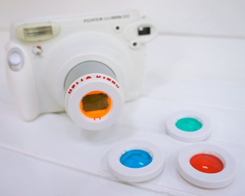 Shopready Color Filter Close-Up Lens For Fujifilm Instax 210/ Wide 300 Polaroid Instant Photo Camera
