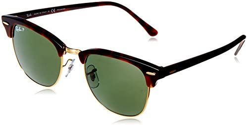 4ae7818f2 Ray-Ban Green Clubmaster Men's Sunglasses RB 3016 990/58 51 21 145mm ...