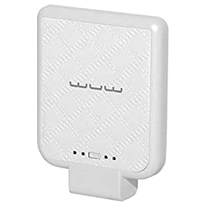Wuw 2200 mAh Back Clip Power Bank For iPhone - White