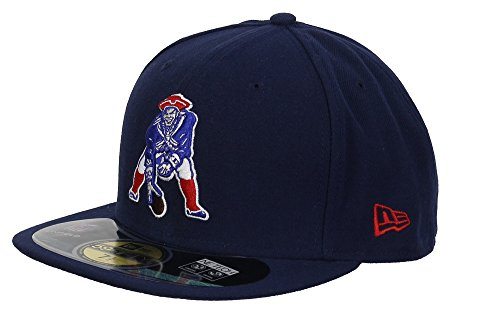New England Patriots Cappy 59FIFTY On Field, 7 1/4