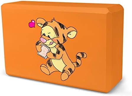 壁紙ティガー7 ヨガブロック ピラティスブロック ヨガ用 ポーズ 補助 防湿性 柔軟性 人気 1個 22.5×15.2×8cm